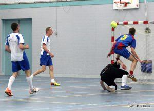 Het enigste doelpunt van de wedstrijd, gemaakt door Sjouke Bootsma.